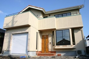 「ビルトインガレージのある家」の完成見学会のお知らせ