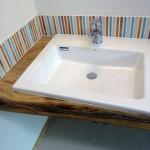 洗面台12