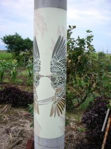 アートな電柱 トリ