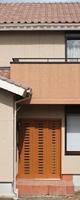 石州窯変瓦(せきしゅうようへんがわら)の屋根