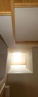 天窓の明かりは1階ホールまで届きます