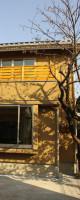 日本の木を使った和モダン住宅。