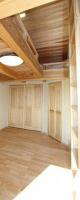 ロフト付の主寝室