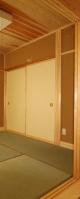 和室はふすまをすべて開けて、LDと一部屋になります