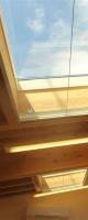室内から青空が見れます